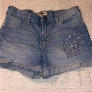 Little girls osh kosh size 7 shorts